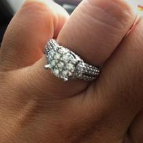 1/2CW 14 WHITE 1 3/8tcw DIAMOND RING  Photo