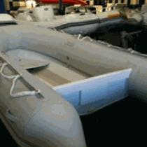 10'2&quot; Aluminum Hull Boat Delphinus 310 Dinghy Photo