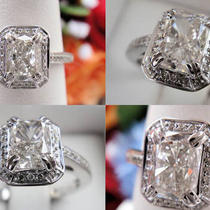 1.15 Ct Cushion Cut Diamond Engagement Ring Photo
