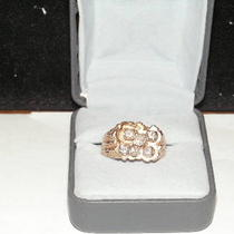 14 Karat Yellow Gold man&amp039s Custom 1.25 Carat Diamond Ring  Photo