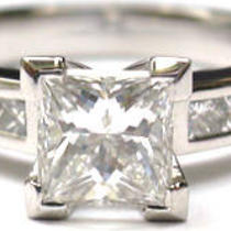 1.50ct Princess Diamond Ring Photo