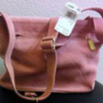 165 Coach Flap Handbag - Authentic Sonoma Nubuck Pebbled Mauve Suede Leather Photo