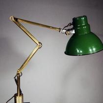 1930's Machine Age Architect Adjustable Studio Task Table Lamp Photo