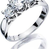 1.93tw 3-Stone Princess Cut Diamond Ring  Photo