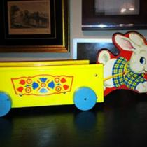 1959 Vintage Bonny Bunny Wagon Photo