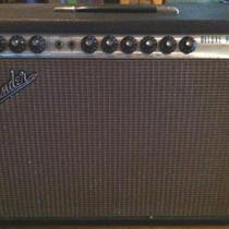 1969 Fender Deluxe Reverb Guitar Amp Photo