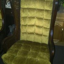 1970's Wing Back Chairs Photo