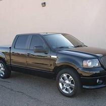 2006 Ford F 150 Black Leather Interior Photo