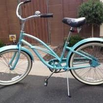"24"" Hawaii Electra Beach Cruiser Baby Blue Photo"