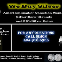 30 I Buy Silver - Coins - Bars - Rounds - We Buy Silver Photo