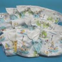 3.84 Kidalog Prefolded Diaper With Gussets Photo
