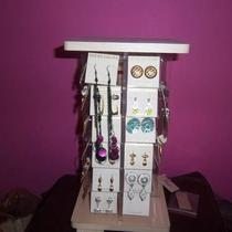 48 Pairs of Earrings With Display Photo