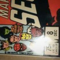 #8 secret wars marvel comic mint Photo