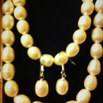 8mm cultured pearl set Photo