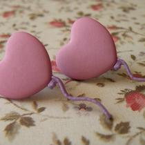 99 Pink Balloons Earrings Photo