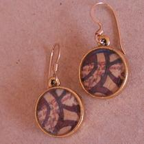 Abstract Art Earrings Photo