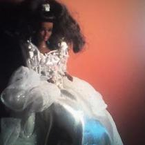 African American Christmas Barbie  Photo