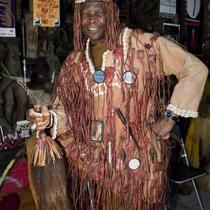 African Ceremonial Costume Photo
