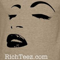 &amp9733 Luxury Organic Cotton T-Shirts - Richteez &amp9733 Photo