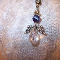 Angel Cell Phone Purse Charm W/detachable Zipper Pull   Free Shipping Photo