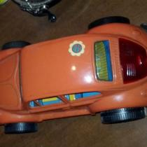 antique battery operated toy VW BEETL Photo