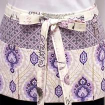 Antiquity Purple Zipper/key Clasp Vendor Apron Photo