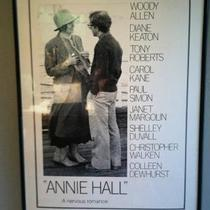 "Authentic ""Annie Hall"" movie poster Photo"
