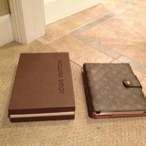 Authentic Large Louis Vuitton Agenda/day Planner Photo
