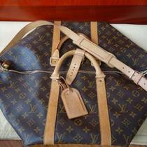 Authentic Louis Vuitton Keepall 50 Bandouliere Photo