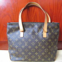Authentic Louis Vuitton Monogram Canvas Cabas Piano  Photo
