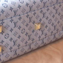 Authentic Louis Vuitton Monogram Josephine Pm Photo