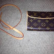 Authentic Louis Vuitton Pouchette &ampamp Belt Photo