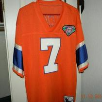 AUTHENTIC MITCHELL AND NESS JOHN ELWAY JERSEY NEVER WORN Photo
