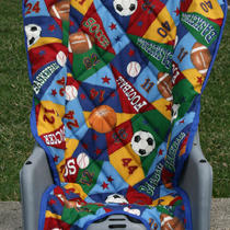 Baby Bike Seat Cover/ Triple Decker Stroller and Runabout Stroller Seat Cover Photo