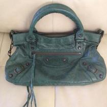 Balenciaga First Emerald Green  Photo