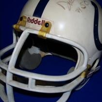 Baltimore Colts Signed Helmet Photo