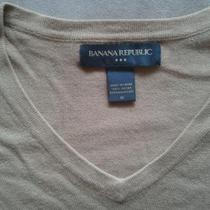Banana Republic V neck 100% cotton Sweater Photo