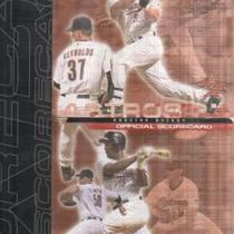 BARRY BONDS 70TH HOMERUN ASTROS VS GIANTS SCORECARD 10/4/2001 - UNSCORED Photo
