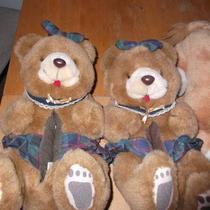 Bear and Lion Slippers Photo