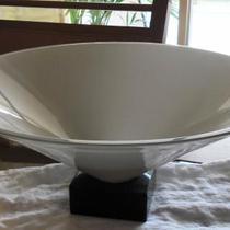 Beautiful OGGETTI Grey Conical Centerpiece Bowl Photo