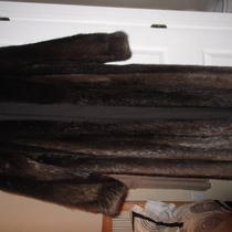 Beaver Full Length Fur Coat Photo