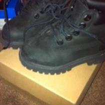 Black toddler Timberlands 714.794.4420 Photo