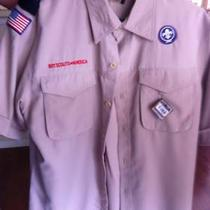 Boy Scout Uniform Shirt Mens Small Photo