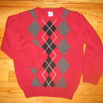 Boys Gymboree Size s(5-6) Holiday Sweater Nice  Photo