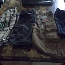 Boys Lot of Name Brand Shorts &ampamp 1 Pair of New Pants Size ... Photo