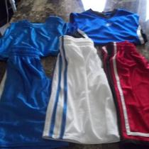Boys Lot of Shorts &ampamp Sleeveless Shirts Size 8-10 Photo
