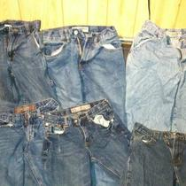 Boys Size 14 Slim Jeans (6 Pair) Photo