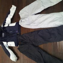 Boys Ski Pants and Jacket Photo
