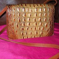 Brahmin Guaranteed Authentic Crocodile Shoulder Bag New  Photo
