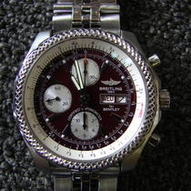 Breitling Bentley A11363 Chronograph Watch Like New Photo